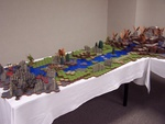 Friday: The other end of the Heroscape setup.