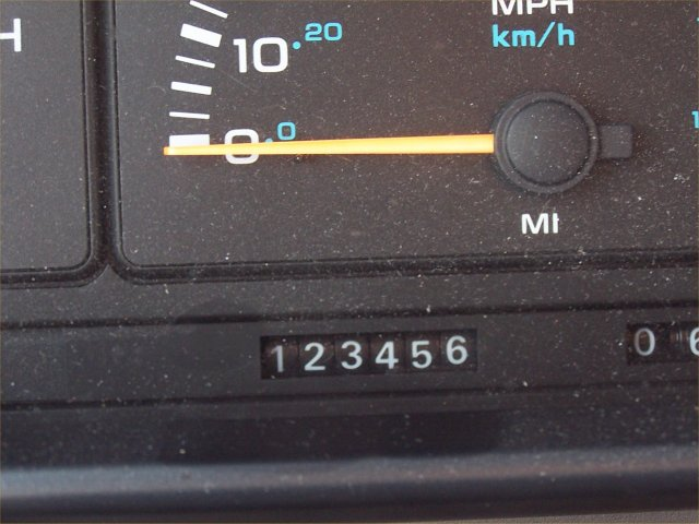 March 24: Our van reaches a significant milestone.