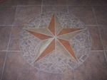 May 14: A closer look at the tile design shows the star in detail.